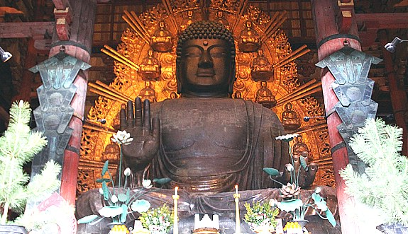 The Smart Local - Buddha statue at Todai-ji Temple