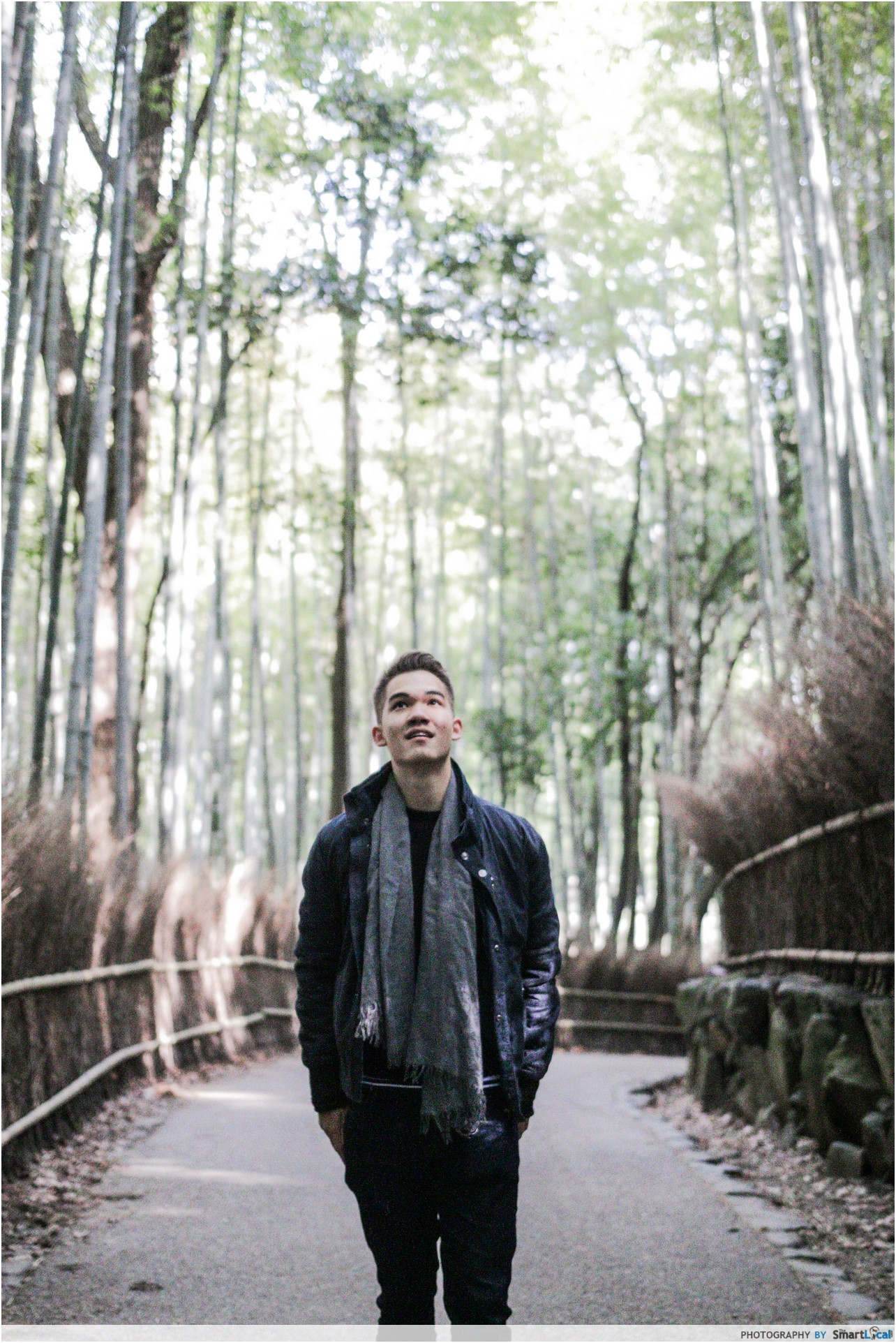 The Smart Local - Thomas exploring Arashimaya Bamboo Forest