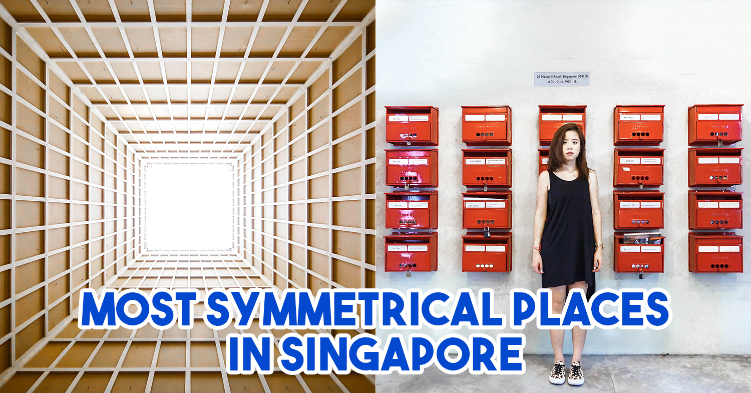12 Ridiculously Symmetrical Places In Singapore For People With OCD To Visit In Pure Bliss