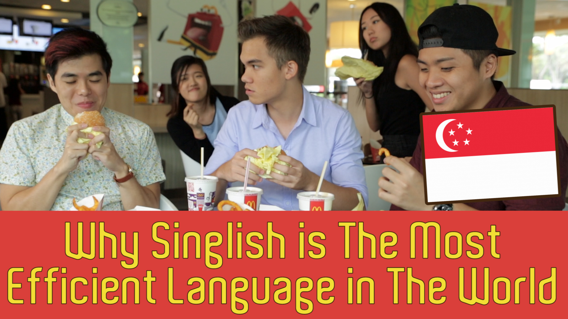 Why Singlish Is The Most Efficient Language In The World - TSL Comedy: Episode 28