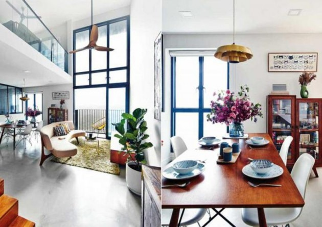 5 mutant hdb apartments in singapore you never knew you for Hdb balcony design