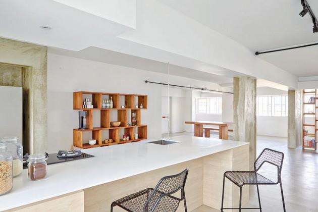 Mezzanine House Design Open Concept
