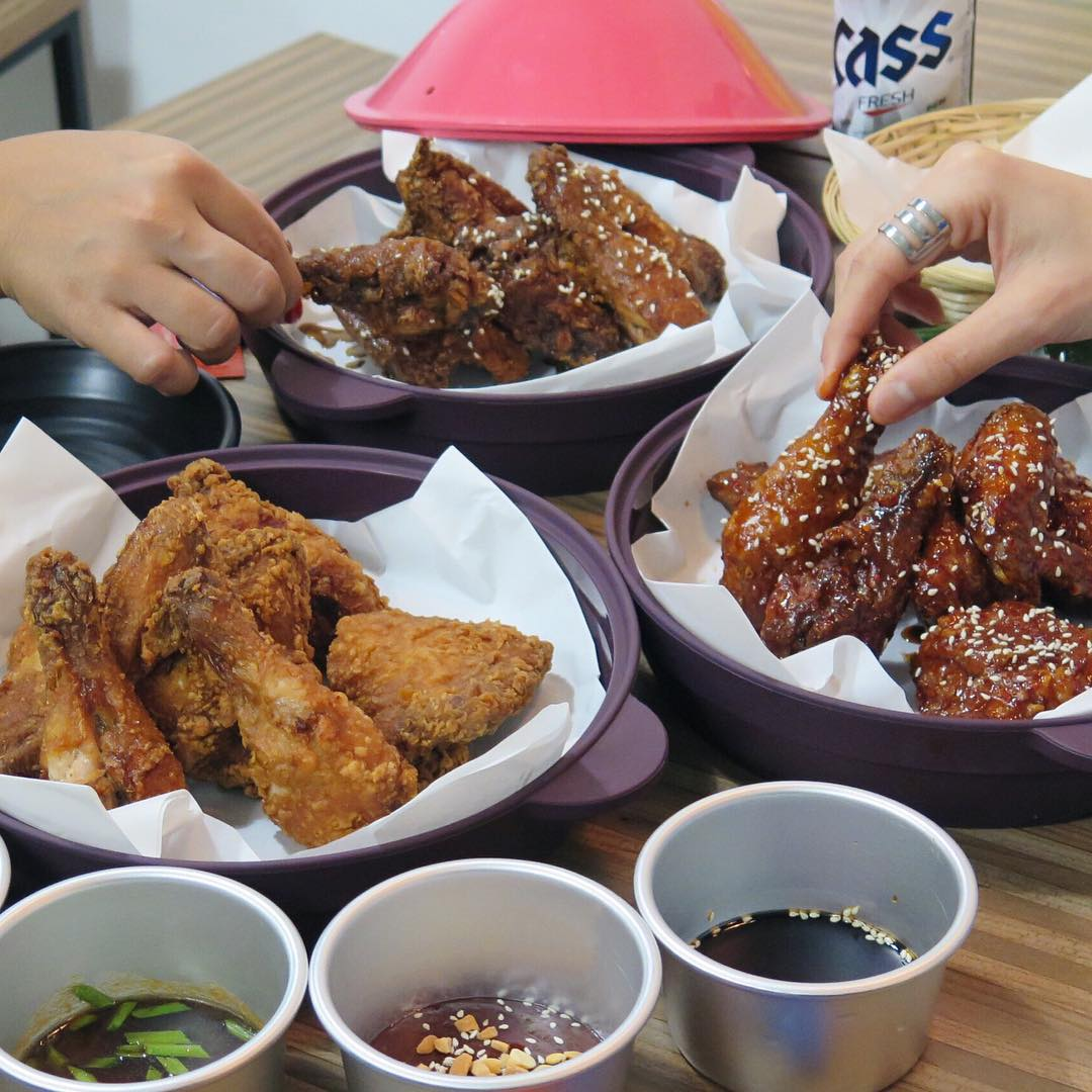 Cheap Korean Food In Singapore - Oppa Chicken