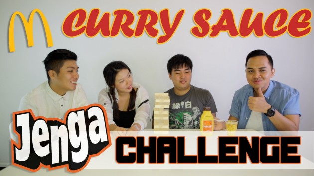Find Out What Happened When We Played Jenga With McCurry Sauce! TSL Plays: Episode 3