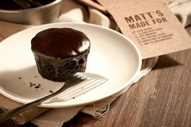 Small Dark Chocolate Fudge cake from Matts