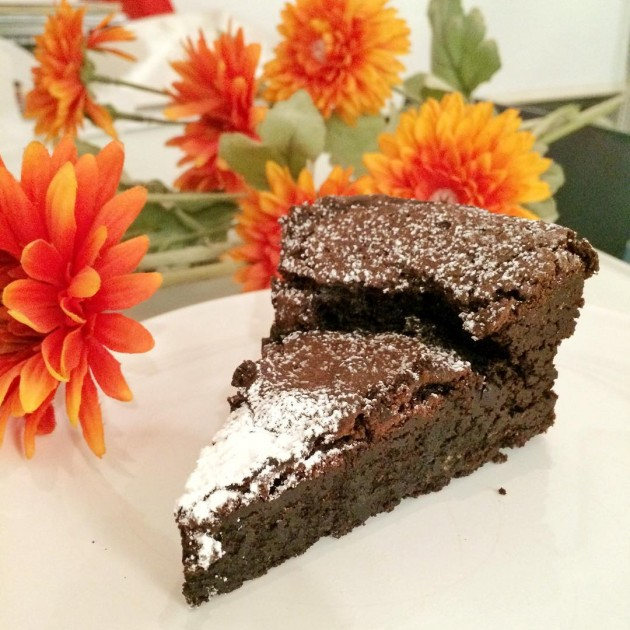 Awfully Chocolate's Flourless Cake
