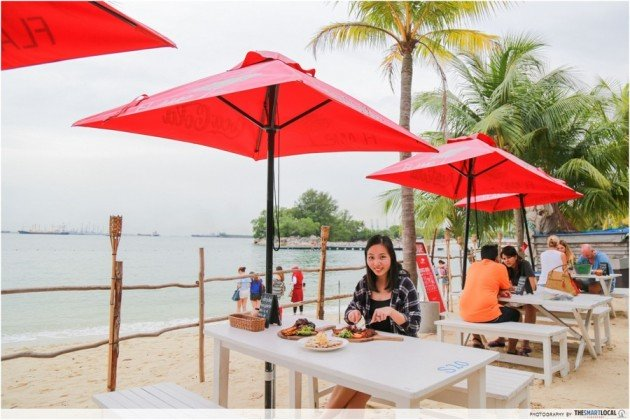 7 Makan Experiences At Sentosa You Won't Find Anywhere Else On Mainland Singapore
