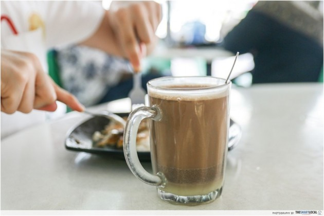 how to make kopitiam coffee