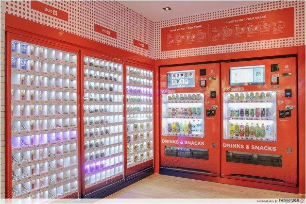 food vending machine singapore
