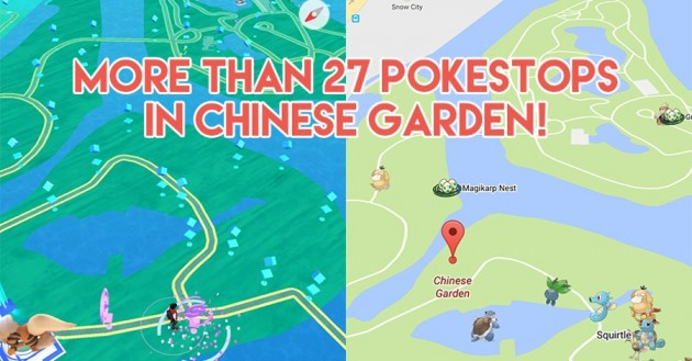 13 Best Places In Singapore To Farm PokeStops And Catch Pokemon