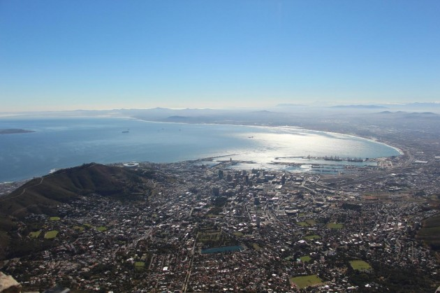 Table Mountain Top - breathing views