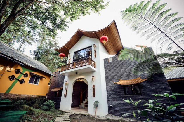 Ting Tau Garden Resort Bungalow homestay