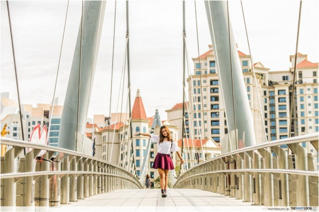 Tanjong Rhu Suspension Bridge