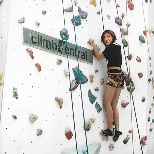 Kallang Wave Mall Rock Wall