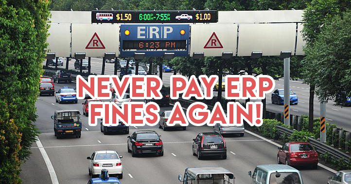 Never pay ERP fines again
