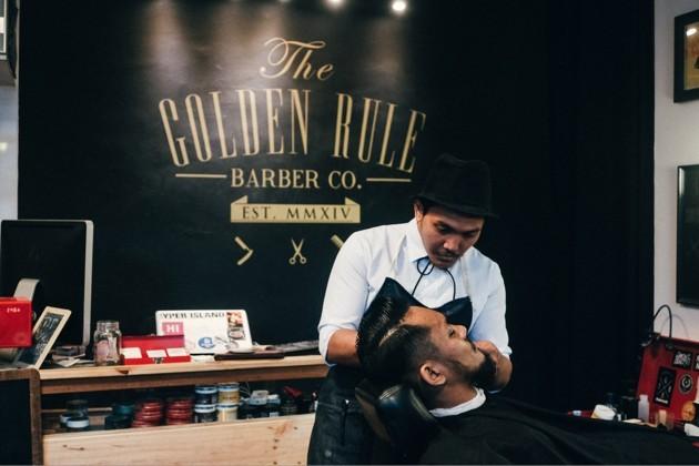 Golden Rule Barber and Co