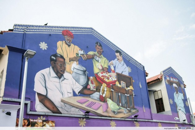little india mural