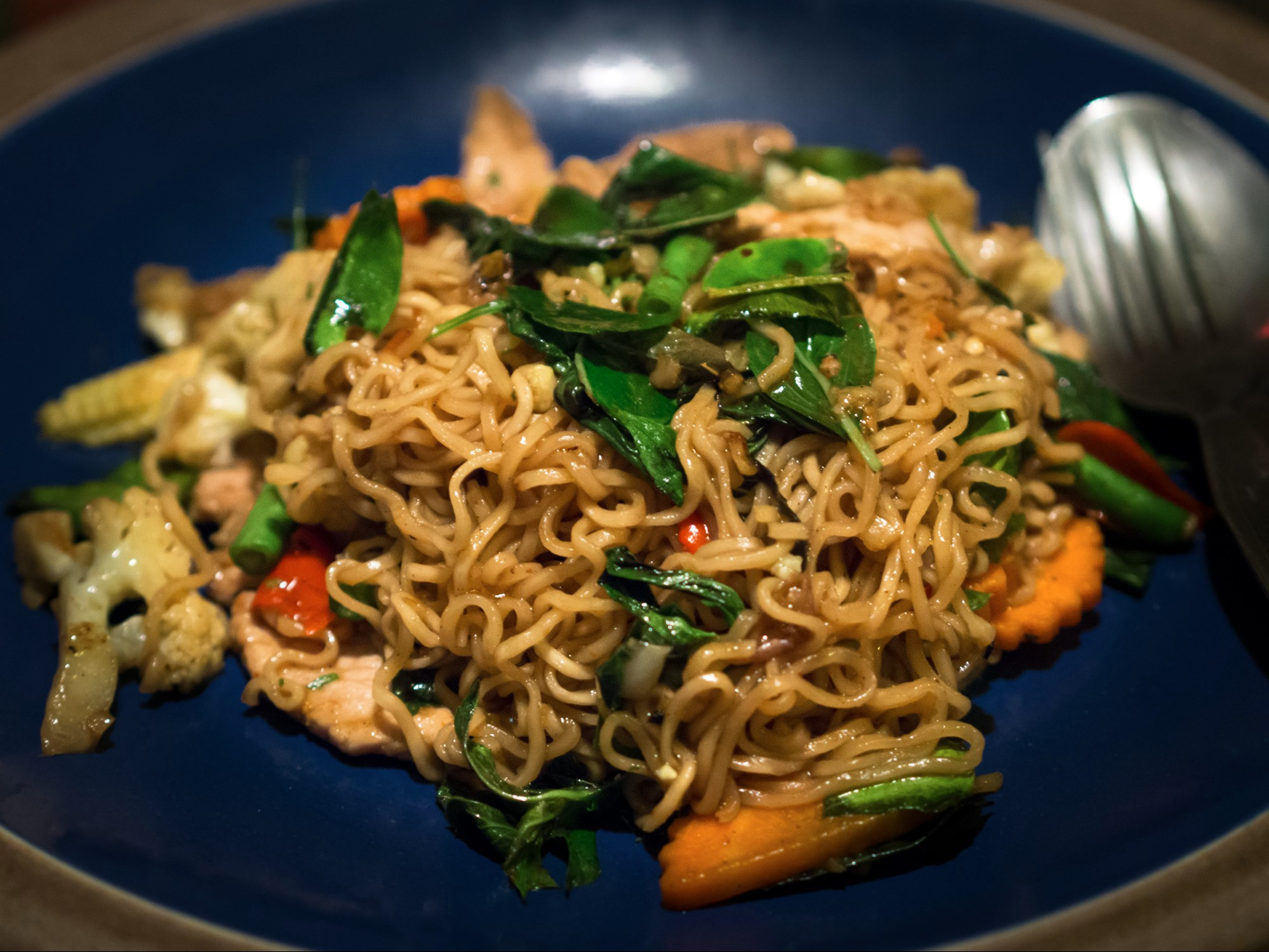 fried instant noodles wok hei