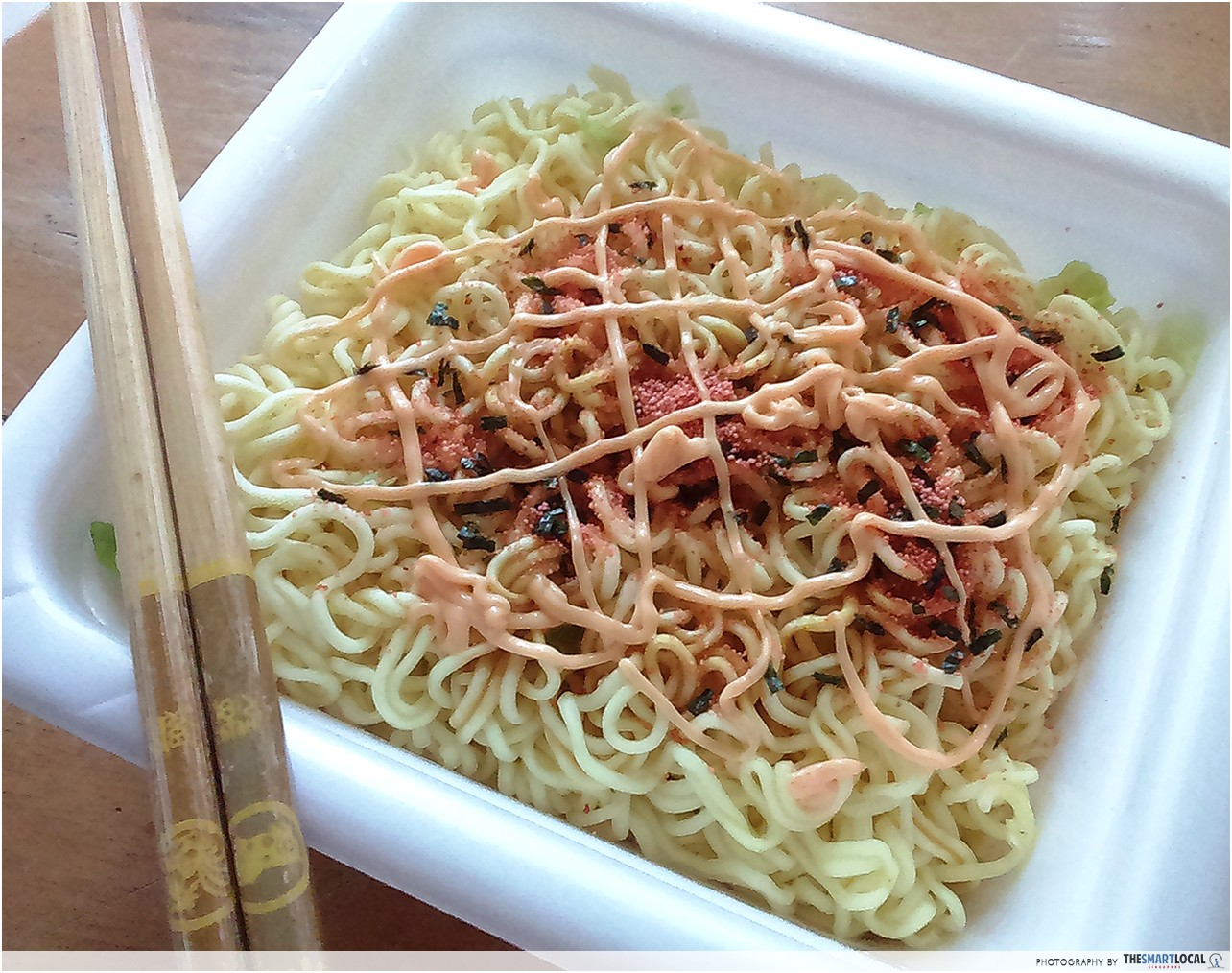 mentaiko mayo instant noodles