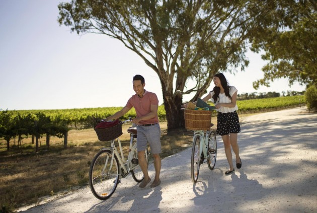 biking mclaren vale asian