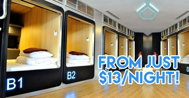 10 Boutique Hostels In BKK Under $30/Night - Indoor Slide & Japanese Capsule Pods!