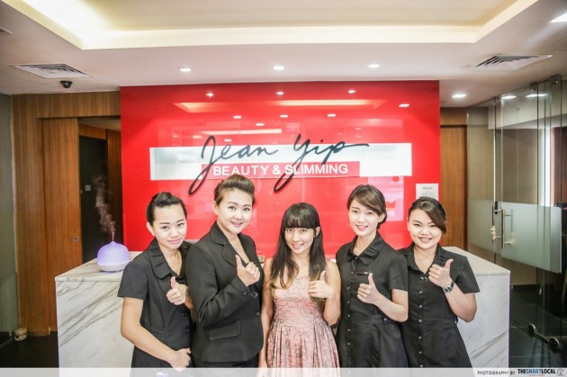 Jean Yip Beauty and Slimming storefront