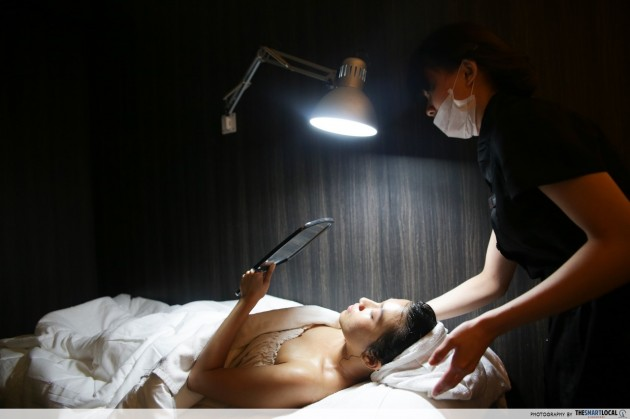 Jean Yip R6 trilogy detoxification therapy facial