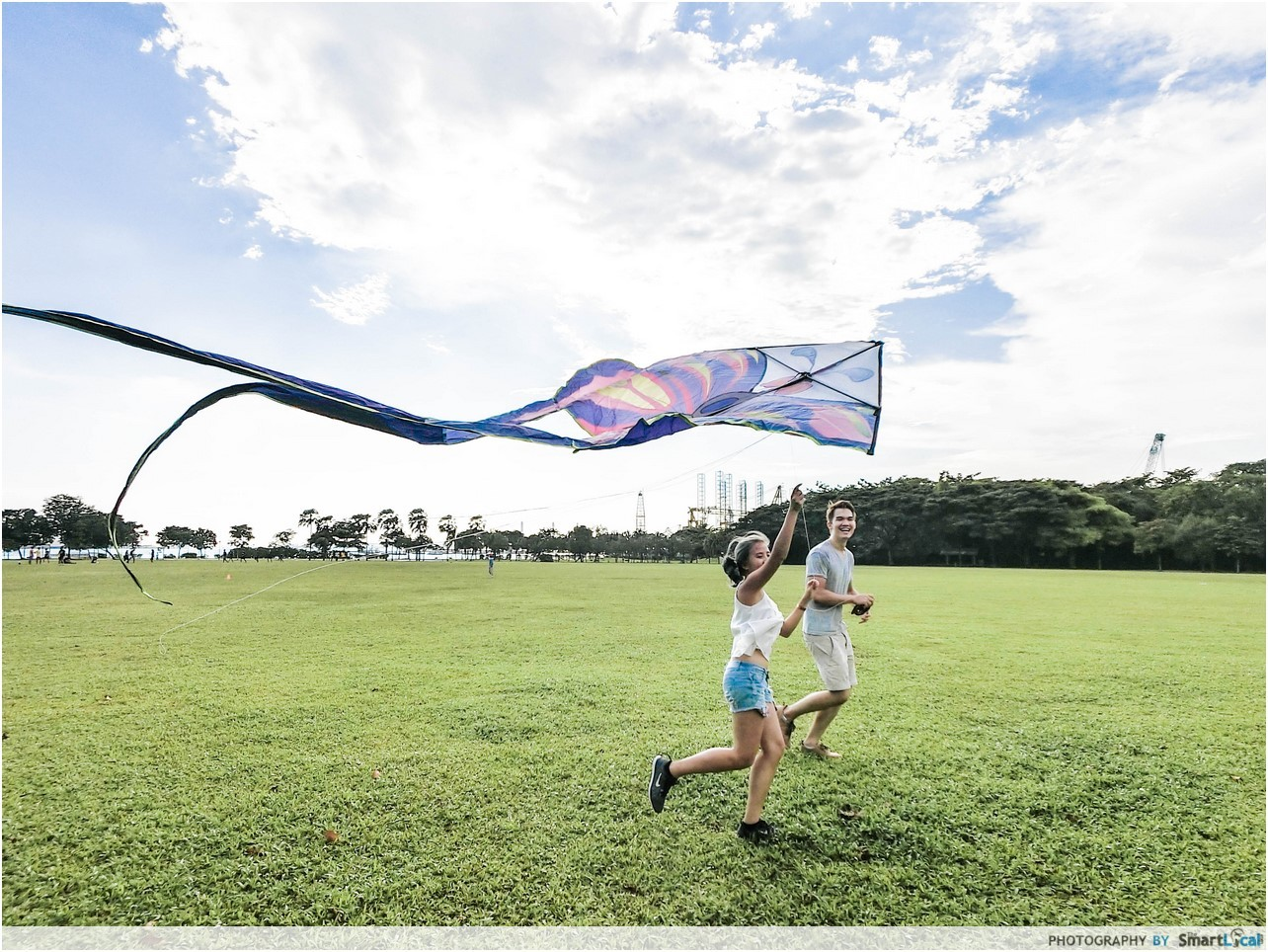 Kite Flying at West Coast Park
