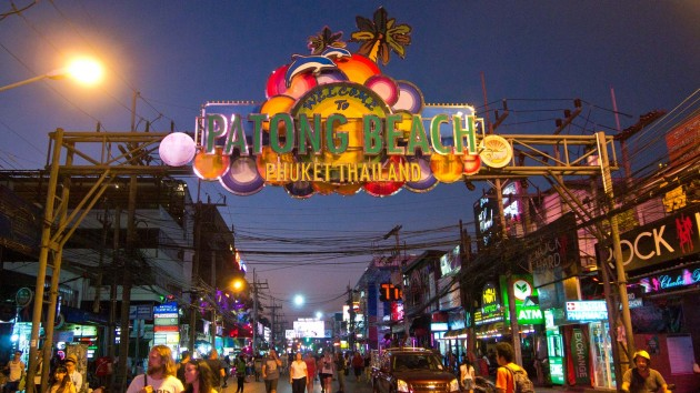 Bangla Road nightlife Phuket Thailand
