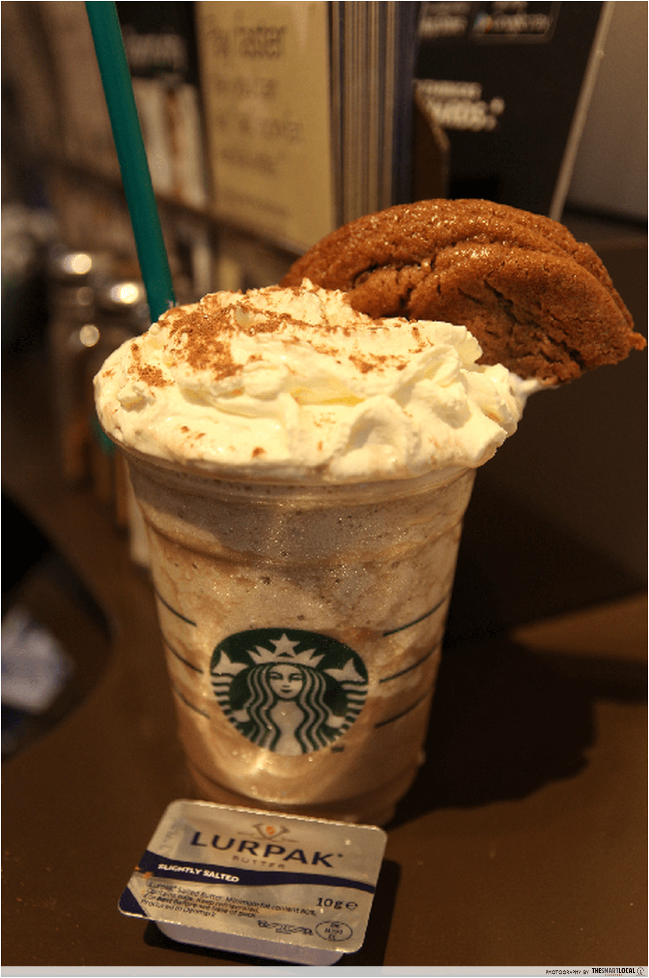 Cookie Monster Frappuccino