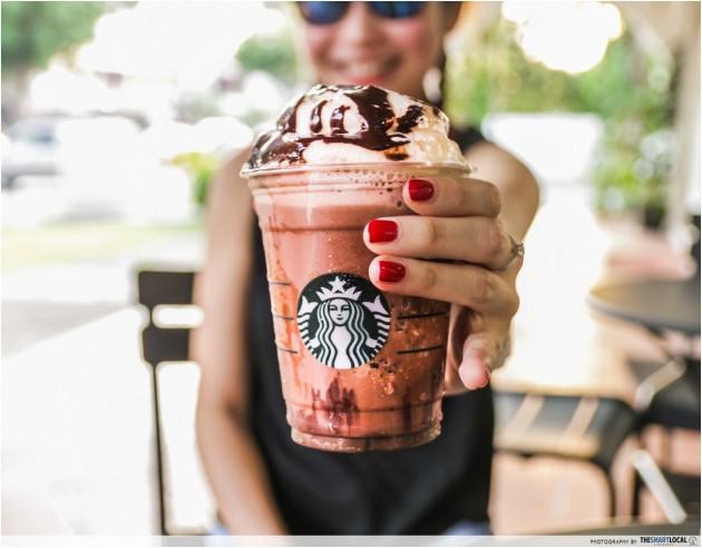 Nutella Frappucino Starbucks