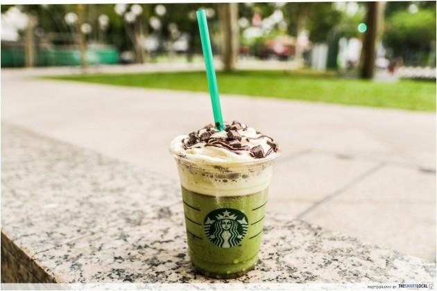 Starbucks Shrek Frappe