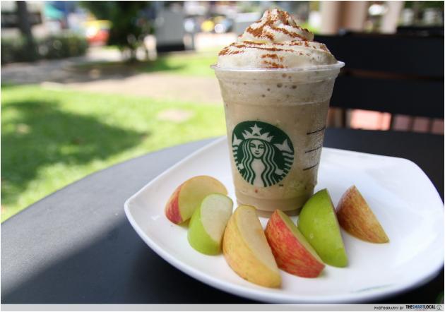 Starbucks Chapple Frappuccino