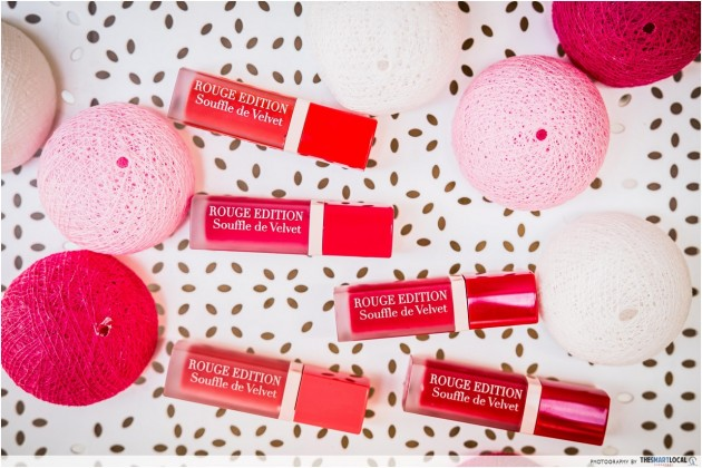Bourjois Paris Velvet Rouge Edition lipstick