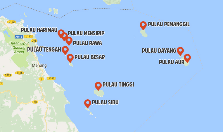 10 Johor Islands That Don't Require A Passport For Malaysians To Travel To