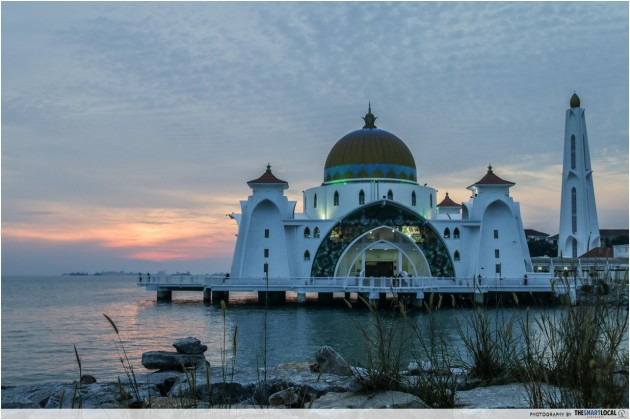 Masjid Selat Floating Mosque Malacca