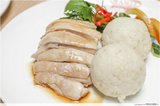 Jonker Street Mamee Cafe Chicken Rice Ball