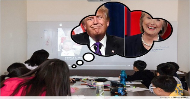 This Is How P5 Kids Are Trained To Understand The US Presidential Elections Better Than Adults