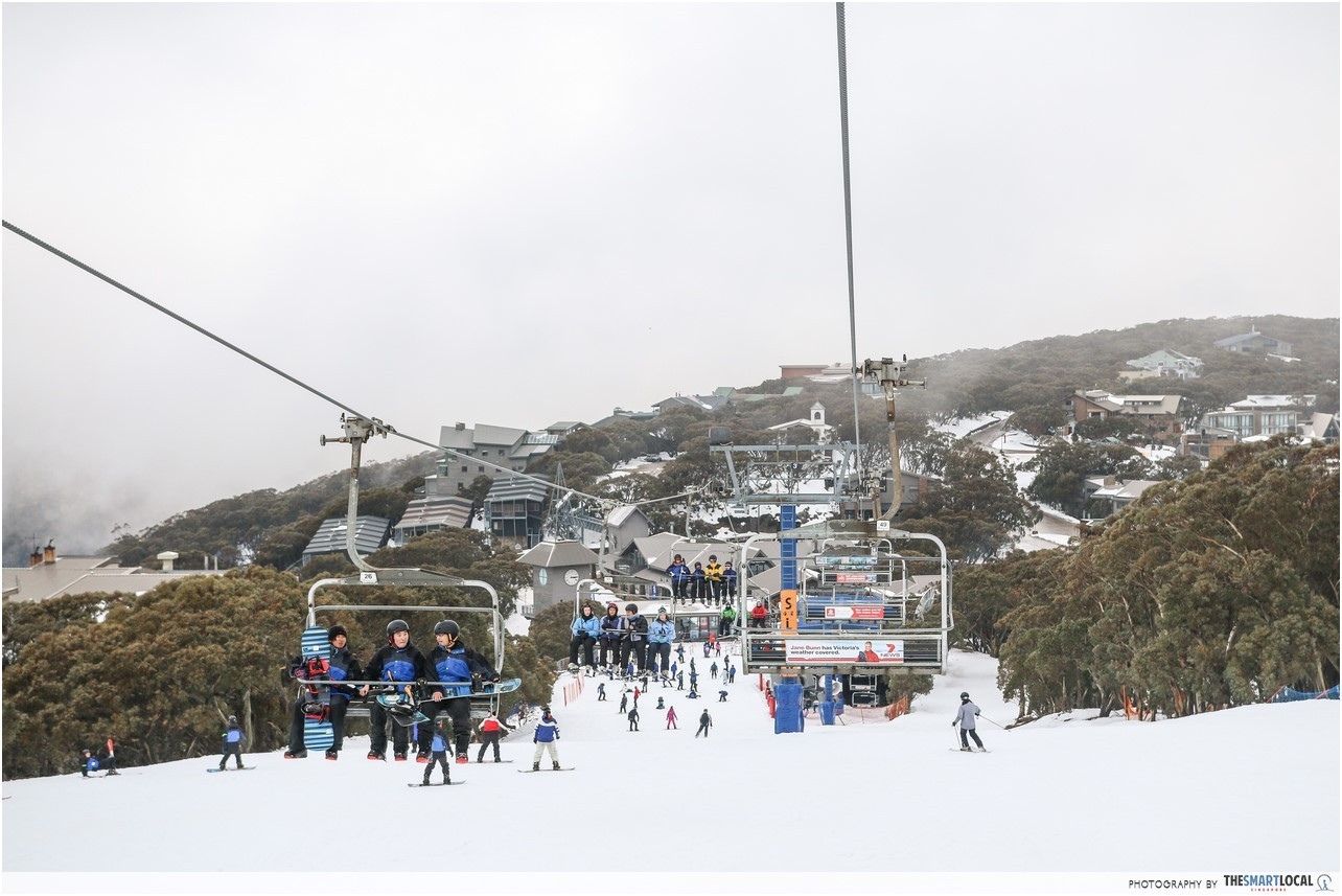 Melbourne Ski Resort Chairlift