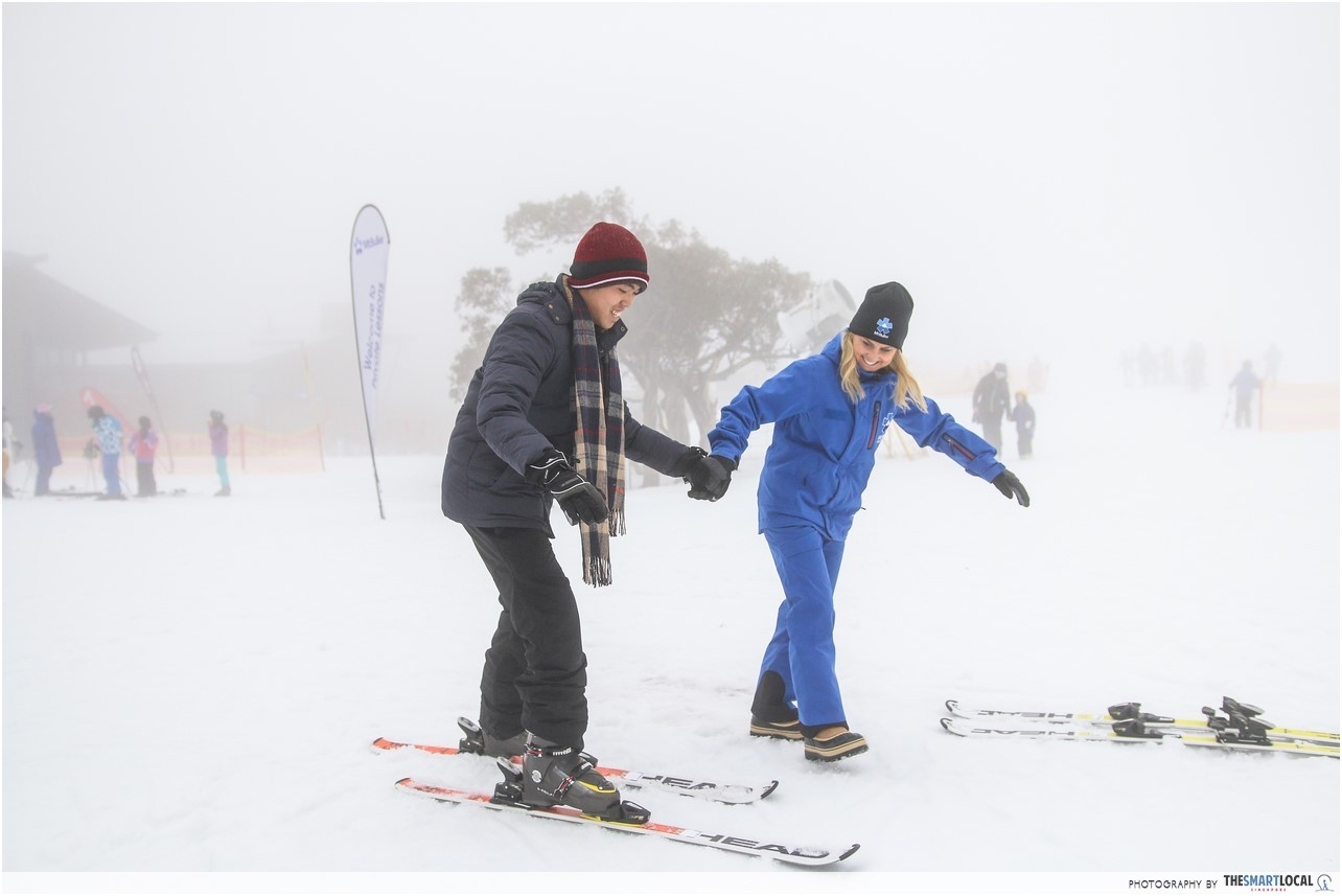 Melbourne Ski Resort Free Beginner Lesson