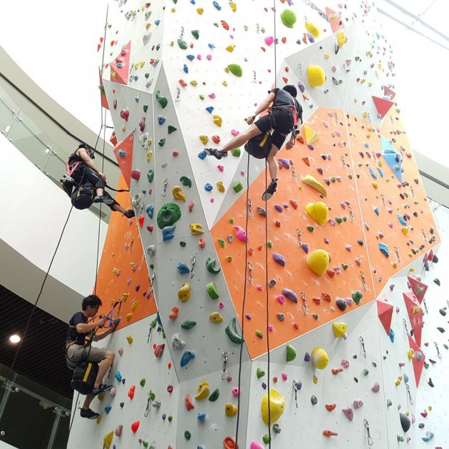 Singapore Fun Workouts ClimbCentral