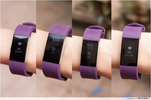 For cardio-intense workouts like this, the Fitbit Charge 2 does a perfect  job of monitoring your heart rate throughout, allowing you to manage the  type of ...