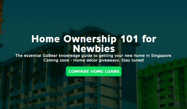 Home Ownership 101 for Newbies, GoBear