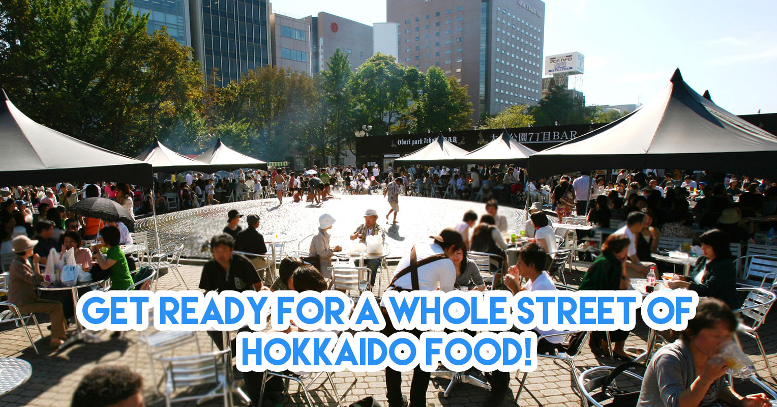 Hello Hokkaido! Festival: Food & Travel Fair At RWS With Ramen, Soft Serves & Fresh Crabs