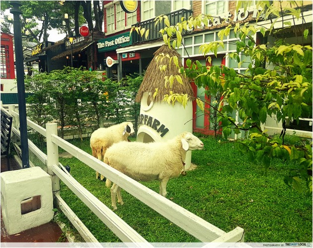 sheep village in Bangkok