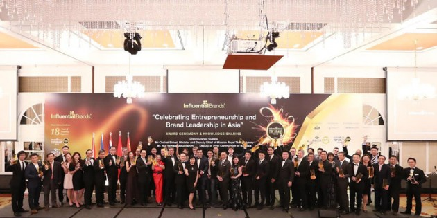 Singapore's Most Influential Brands Were Honored At This Grand Gala Event