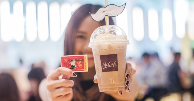 McCafé Is Giving You Monopoly Game Labels With Every Set Meal