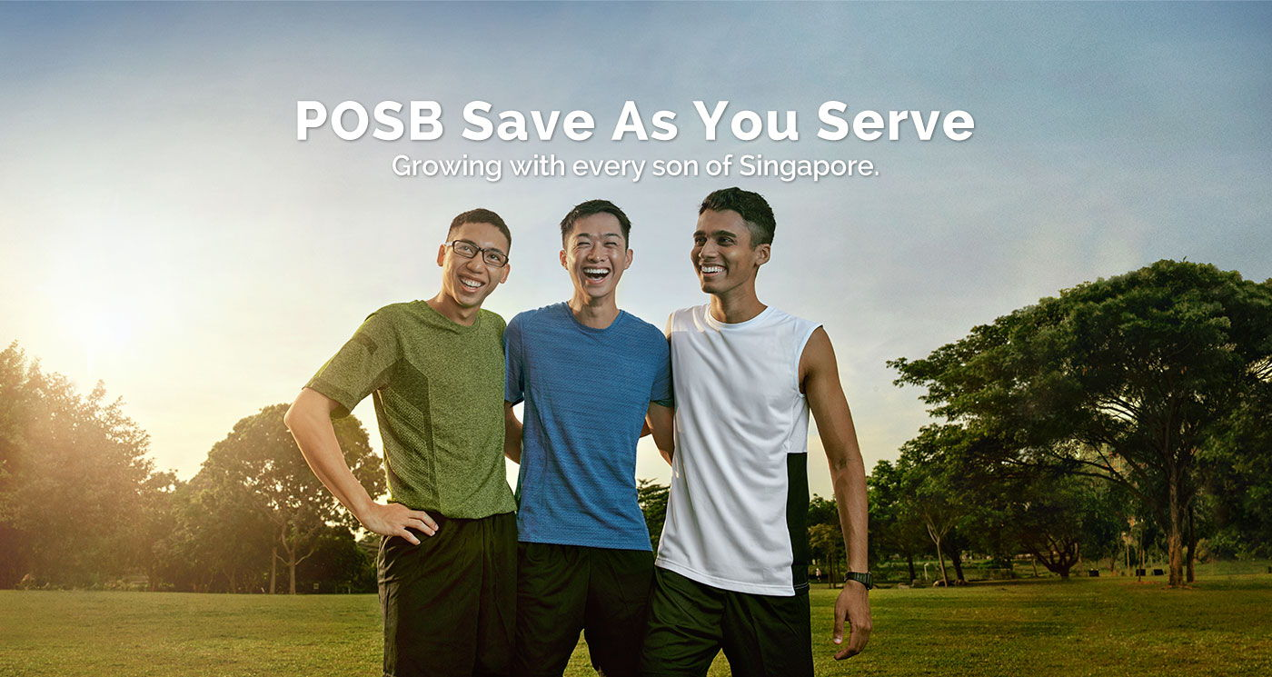 POSB save as you serve