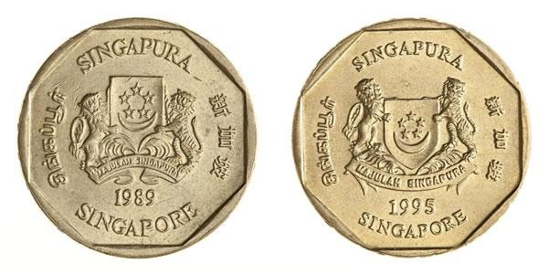 National Coat of Arms on the $1 coin