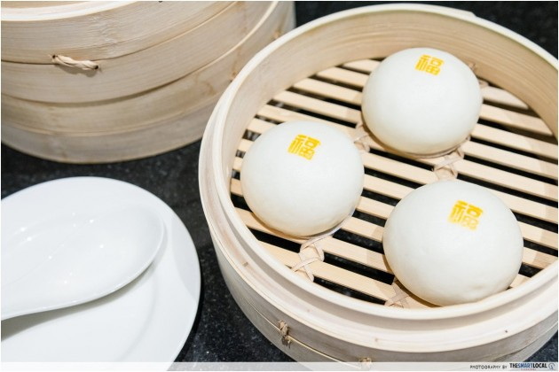 Din Tai Fung Steamed Custard Bun